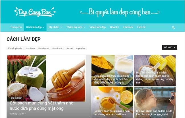 Depcungban.vn (ニュースメディア)