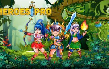 アドベンチャーゲーム『HEROES PRO』