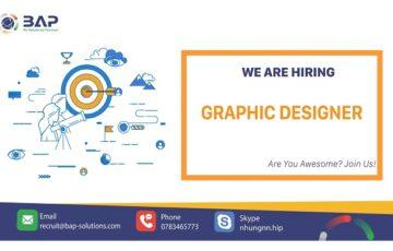 (Tiếng Việt) Graphic Designer