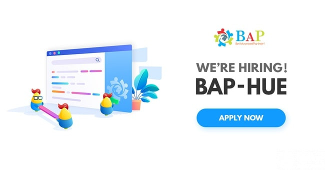 (English) [BAP – HUE] 09 Hot Jobs are waiting for you to apply now!