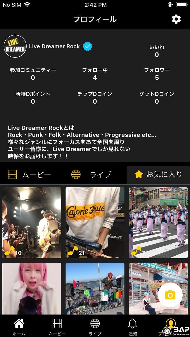 live dreamer rock