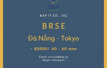 [BAP] BrSE in Japan Seeking