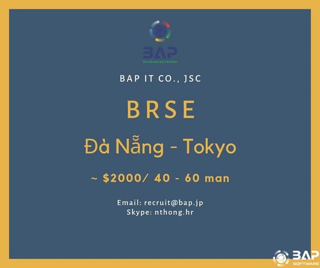 [BAP] BrSE in Japan Seeking