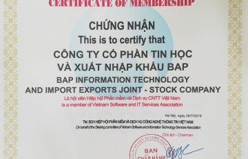 BAP-ベトナムITソフトウェアおよびサービス協会のメンバー