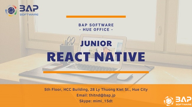 (English) Hue Office – Junior React Native