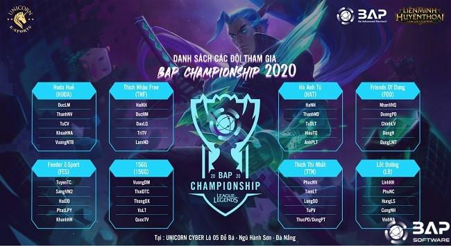 bap championship 2020