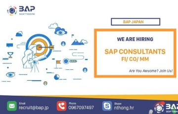 (日本語) [BAP JAPAN] SAP Consultant