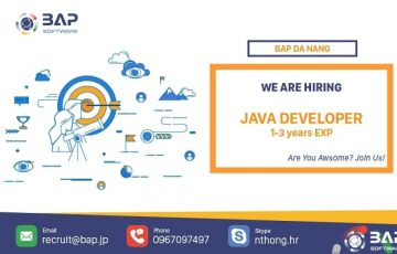 Da Nang – Java Dev