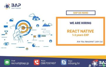Da Nang – React Native Developer