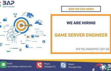 Da Nang/ HCM – Game Server Engineer