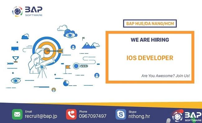 (English) IOS Developer
