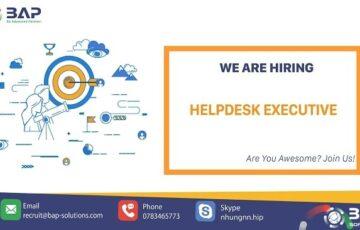 Helpdesk Executive