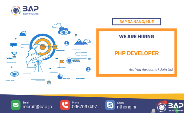 (English) PHP Developer