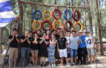 Team Building In Hue And Ho Chi Minh