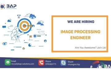 (English) Image Processing Engineer