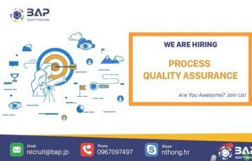 (English) Process Quality Assurance
