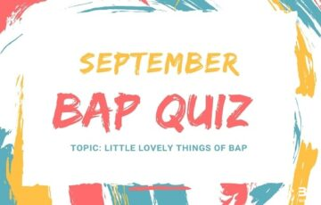 September BAP Quiz
