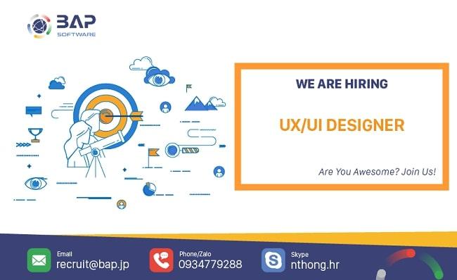 (English) Web/ App Designer (UX/UI Designer)