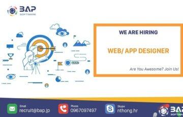 (English) Web/ App Designer