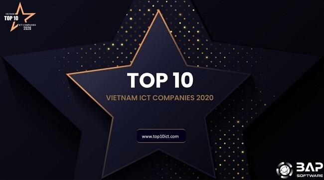 BAP IN TOP 10 VIETNAM ICT COMPANIES