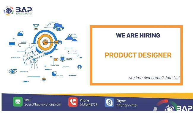 (English) Product Designer