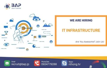 (English) IT Infrasructure Engineer