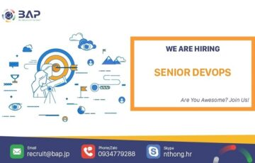 (English) Senior Devops Engineer