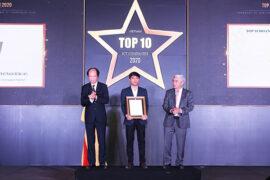 BAPは、Vinansaによる「Top10 Vietnam ICTCompanies2020」のように表彰されました