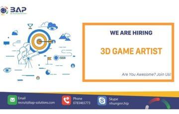 3D Game Artist