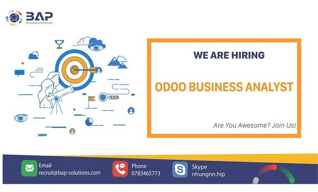 (English) Business Analyst – Odoo ERP