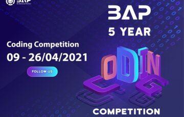 (Tiếng Việt) Thông báo về cuộc thi BAP 5-Year Coding Competition