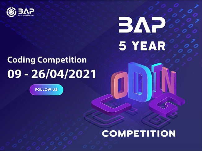bap 5 year coding competition