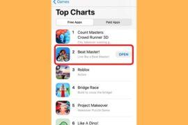 Beat Master! – Tựa game đứng thứ 2 tại Mỹ đến từ Smart Game Studio