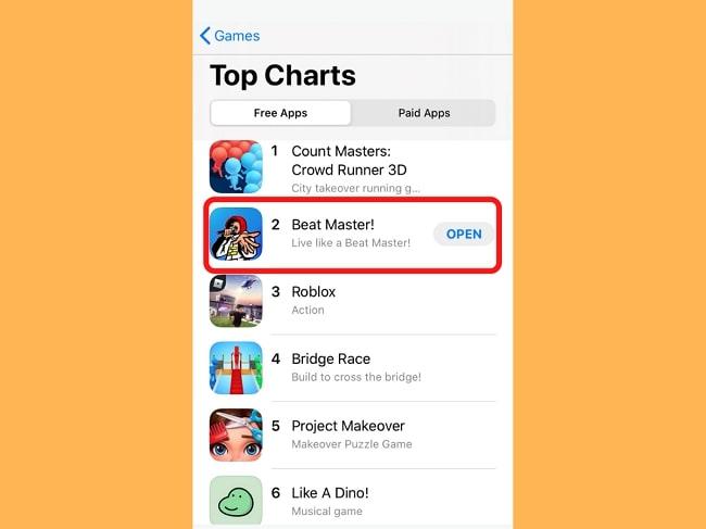 top chart beat master