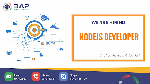 (English) NodeJS Developer